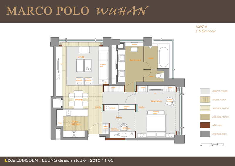 Marco Polo Service Apartments_21 floorplan unit four
